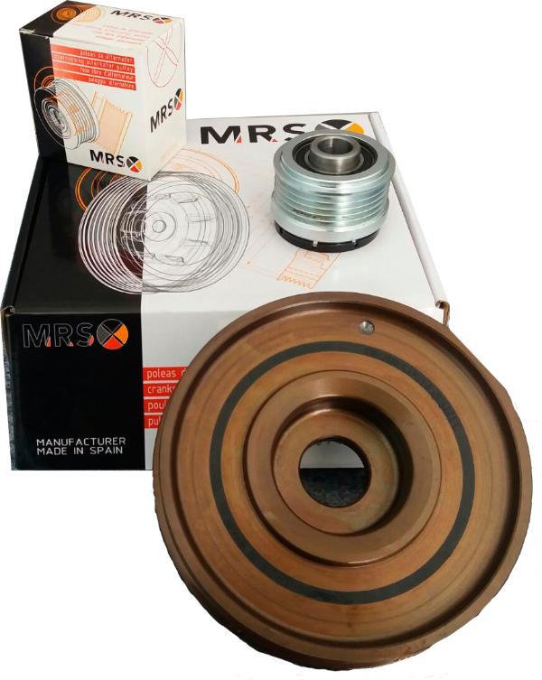 Catálogo y tarifas de Poleas MRS